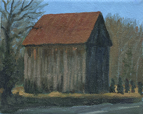 mackall road barn miniature
